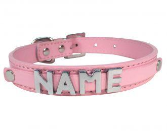 Hundehalsband rosa, glatt