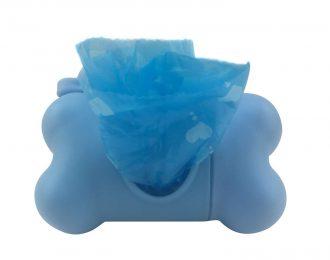 Hundekotbeutel-Behälter blau